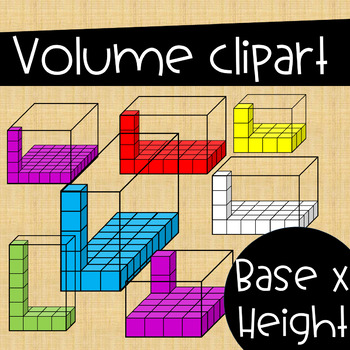 Volume Clip Art Set ~ Bases x Height