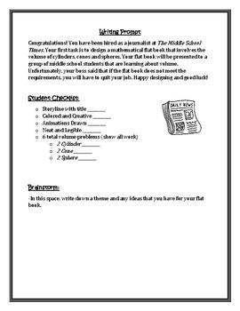 Volume--Comic Strip/Flat Book Project