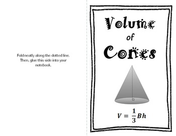 Volume Cone-acopia: A candy-based lesson on volume of cones
