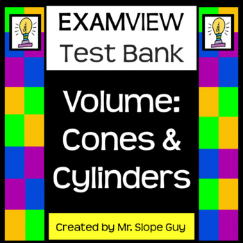 Volume Cones & Cylinders Common Core 8.G.C.9 Go Math Geometry