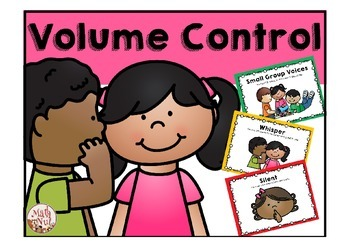 "Volume Control ""Classroom Management Tool"""