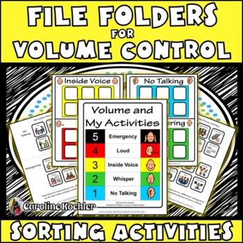 Volume Control File Folder Activities