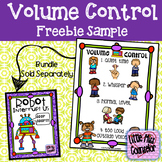 Volume Control Poster Sample Freebie