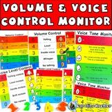 Noise Level & Volume Control: Behavior Management Visual Chart