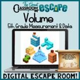 Volume Digital Escape Room 5th Grade Measurement & Data Standards