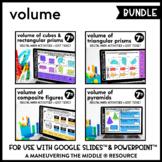 Volume Digital Math Activity Bundle | 7th Grade Math Dista