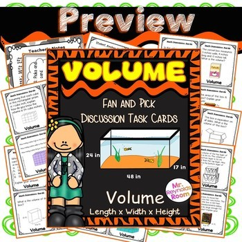 Volume and Capacity Task Cards