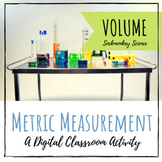 Volume Distance Learning | Metric System Measurement Virtual Lab for Google