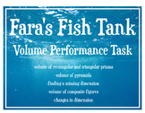 Volume: Fish Tank Geometry Performance Task -Real World Application
