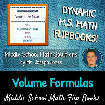 Volume Formulas Flip Book