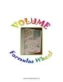 Volume Formulas Wheel for Interactive Notebooks