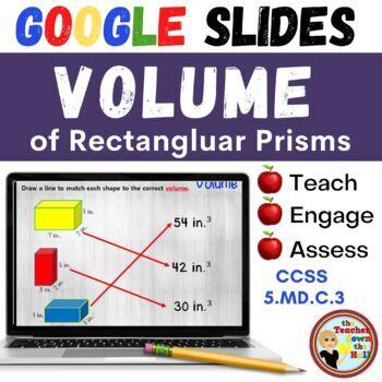 Volume - GOOGLE INTERACTIVE CLASSROOM!