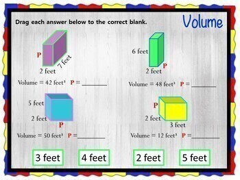 Volume - INTERACTIVE Slides for your Technology Integrated Classroom!
