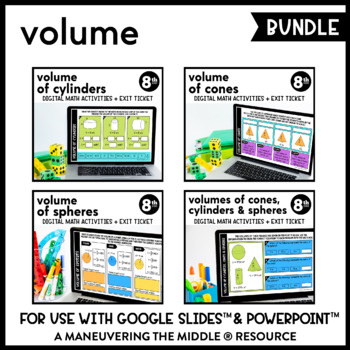 Volume - Google Slides™ Digital Math Activities (Distance Learning)