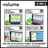 Volume - Google Slides™ Digital Math Activities (Distance