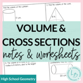 Volume and Cavalieri's Principle Guided Notes and Worksheets