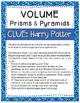 Volume Activity: Harry Potter Clue