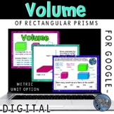 Volume of Rectangular Prisms Interactive Practice for Google Classroom