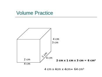 Volume Introduction