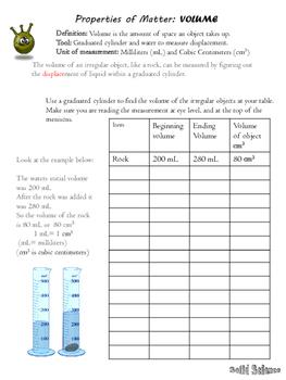 Volume Lab Worksheet