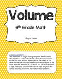 Volume Lesson Plans