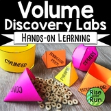 Volume of Spheres, Cones, Cylinders, Pyramids Hands-On Discovery Activity