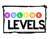 Volume Level Posters