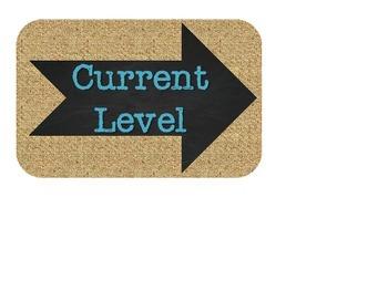 Volume Levels - Burlap, Chalkboard, and Teal