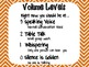 Volume Levels for Classroom Management