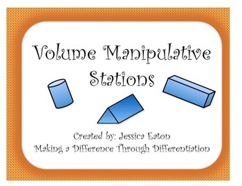 Volume Manipulative Stations