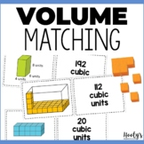 Volume of Rectangular Prisms Matching Game - Color Cards