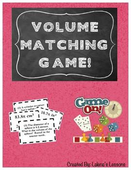 Volume Matching Game