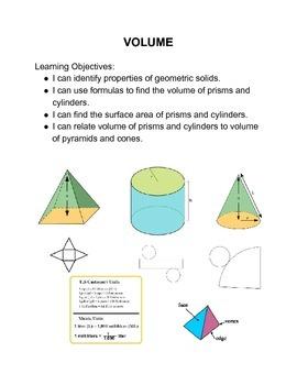 Volume Math Menu