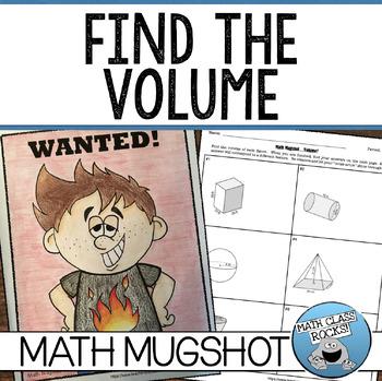 "VOLUME - ""MATH MUGSHOT"""