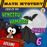 6th Grade Volume Math Mystery - Vengeful Vampire Volume Review