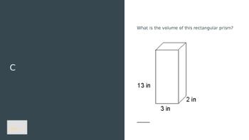 Volume Math Review