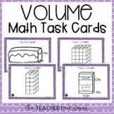 5th Grade Volume Task Cards   Volume Center   Volume Game