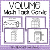 5th Grade Volume Task Cards | Volume Center | Volume Game