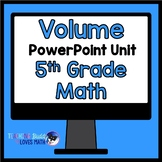 Volume Math Unit 5th Grade Interactive Powerpoint Common Core