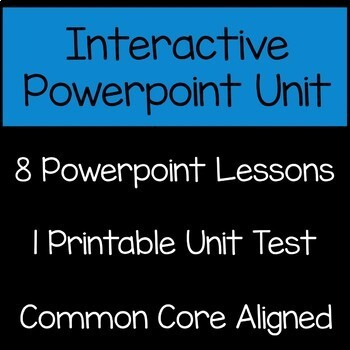 Volume Math Unit 5th Grade Interactive Powerpoint Common Core