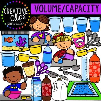 Volume: Measurement Clipart {Creative Clips Clipart}