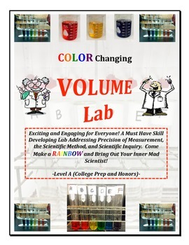 Volume Measurement RAINBOW LAB - Level A (CP or HON)  Must Have!