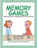 Volume Memory Games