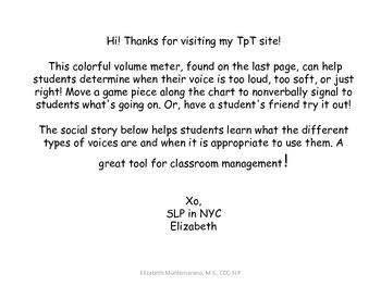 Volume Meter & Social Story