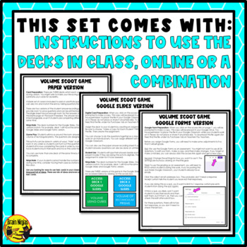 Volume Metric Whole Numbers Rectangular Prisms Task Cards Grades 4-5