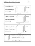 Volume: Missing Dimensions Skill Quiz