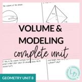 Volume & Modeling Unit (Geometry Unit 8)