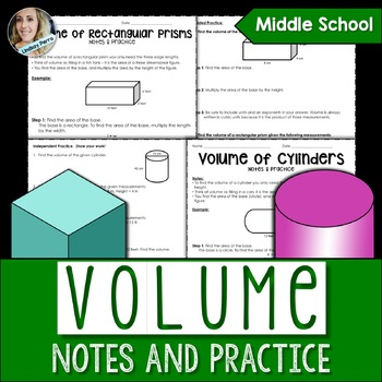 Volume Notes and Practice