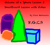Smartboard lessons and video - Volume Of A Sphere