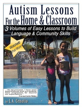 Autism Lessons for the Home & School Volume One